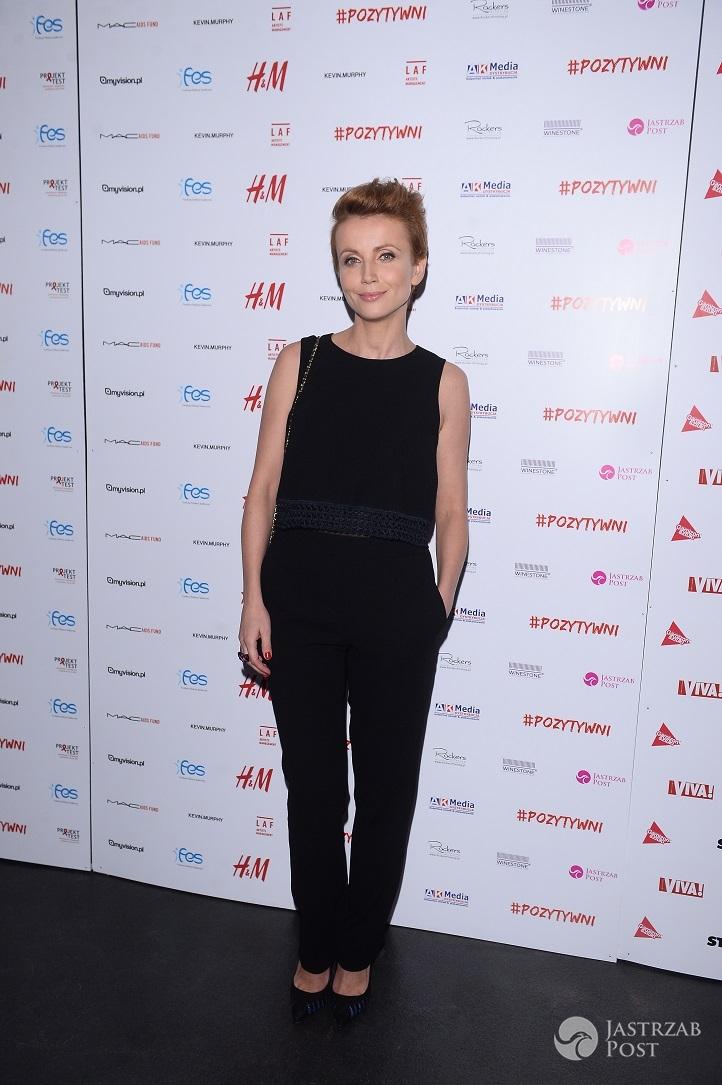 Katarzyna Zielińska - premiera spektaklu Pozytywni, 2015