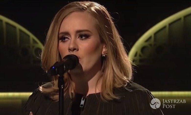Adele śpiewa swója najnowszy utwór Hello a capella