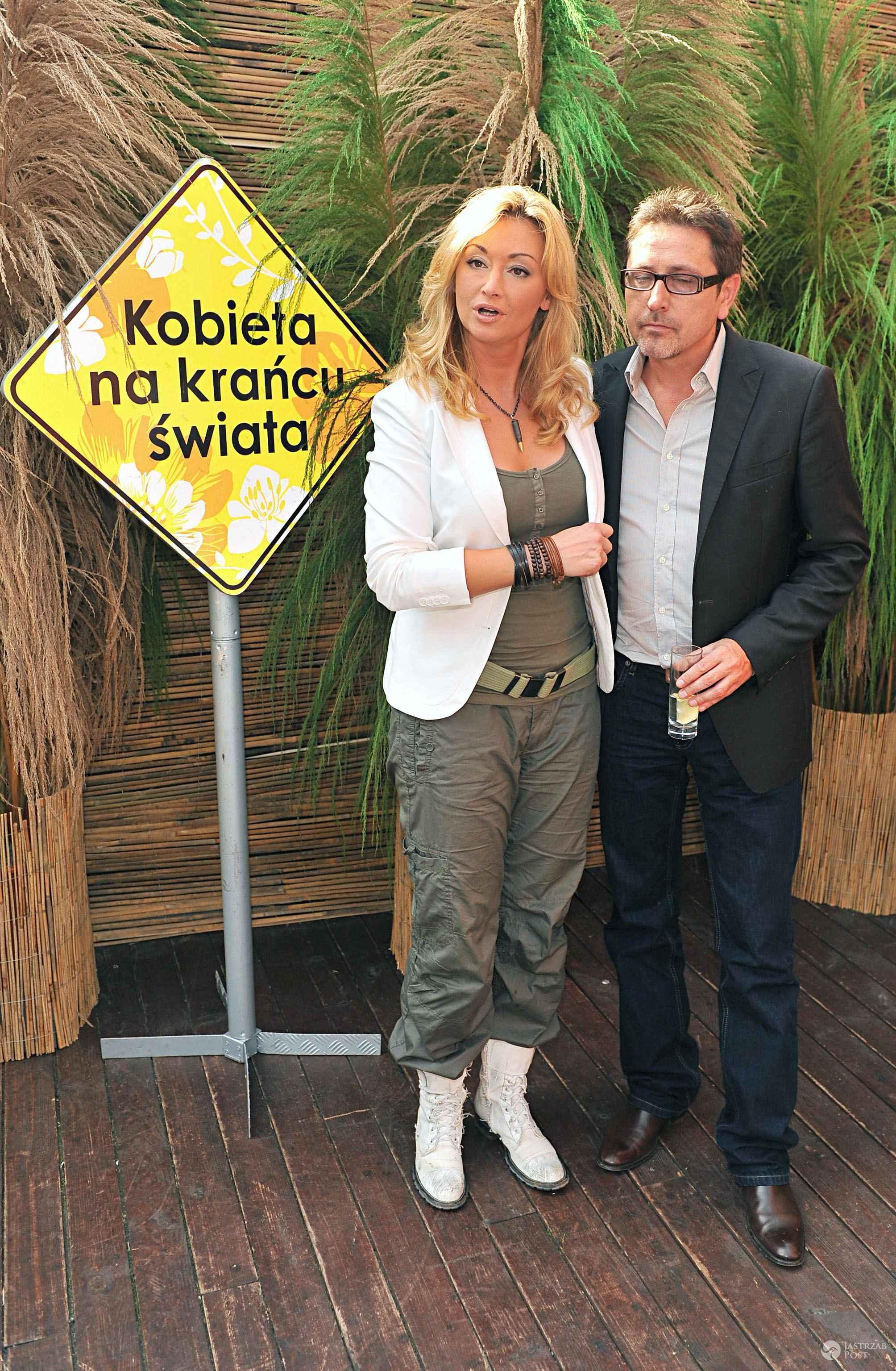 Martyna Wojciechowska i Andrzej Sołtysik