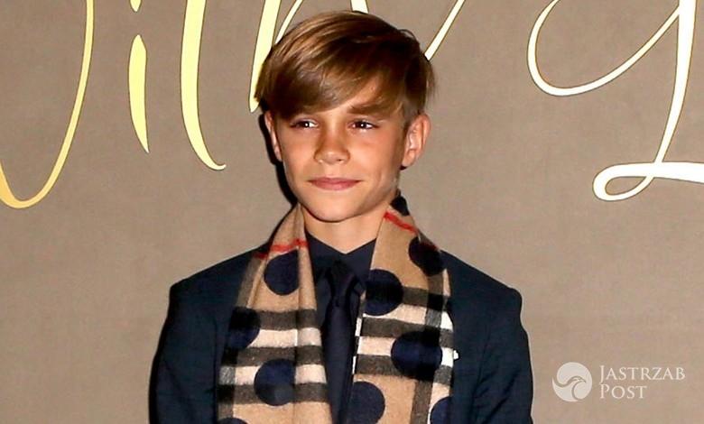 Romeo Beckham w świątecznej kampanii Burberry (fot. ONS)