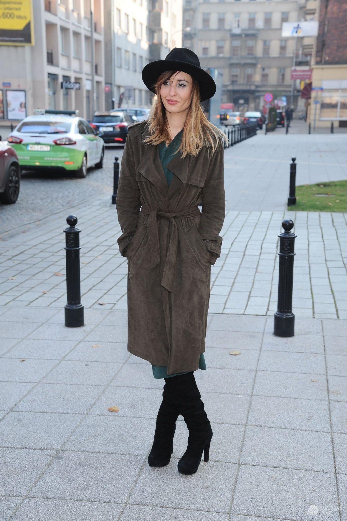 Agata Nizińska - otwarcie butiku Sabriny Pilewicz