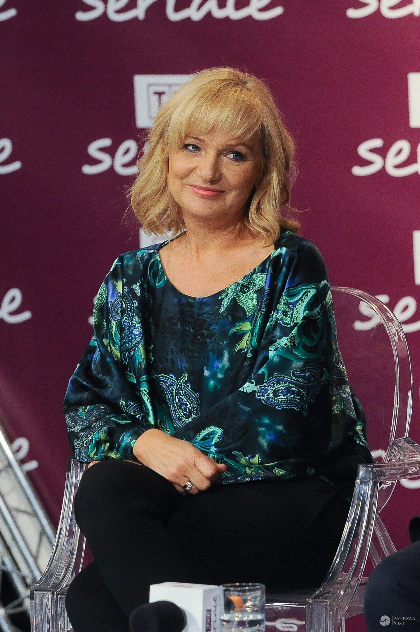 Katarzyna Żak na 5-leciu TVP Seriale