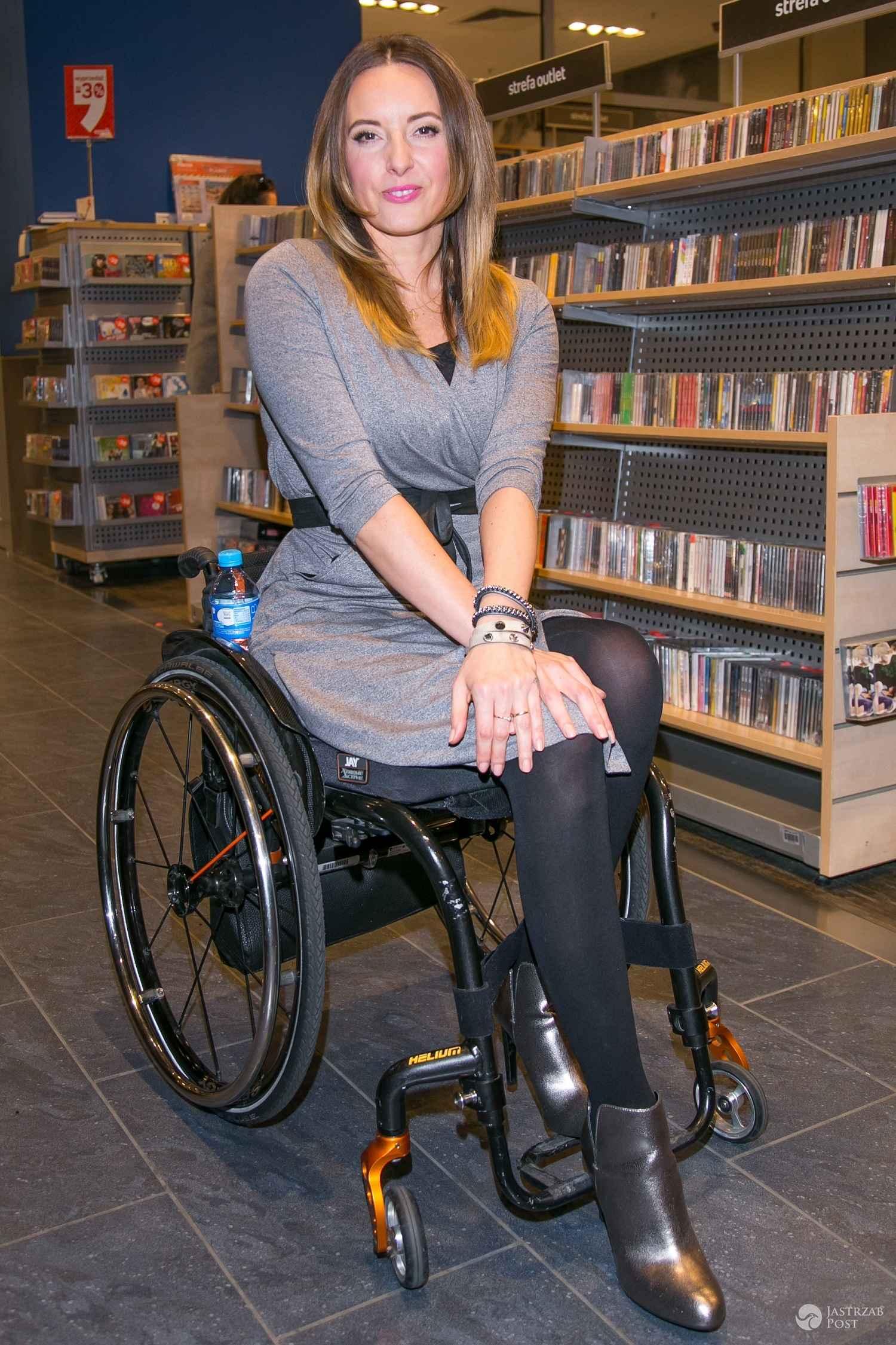 Monika Kuszyńska promuje swoją pierwszą książkę