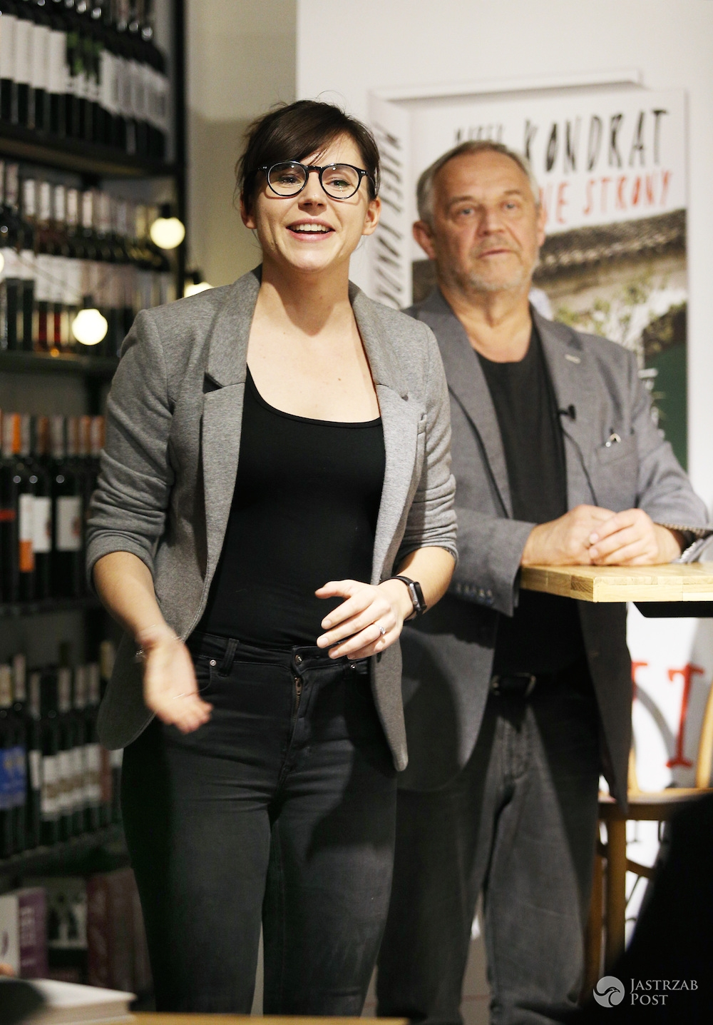 Marek Kondrat i Antonina Turnau promują książkę