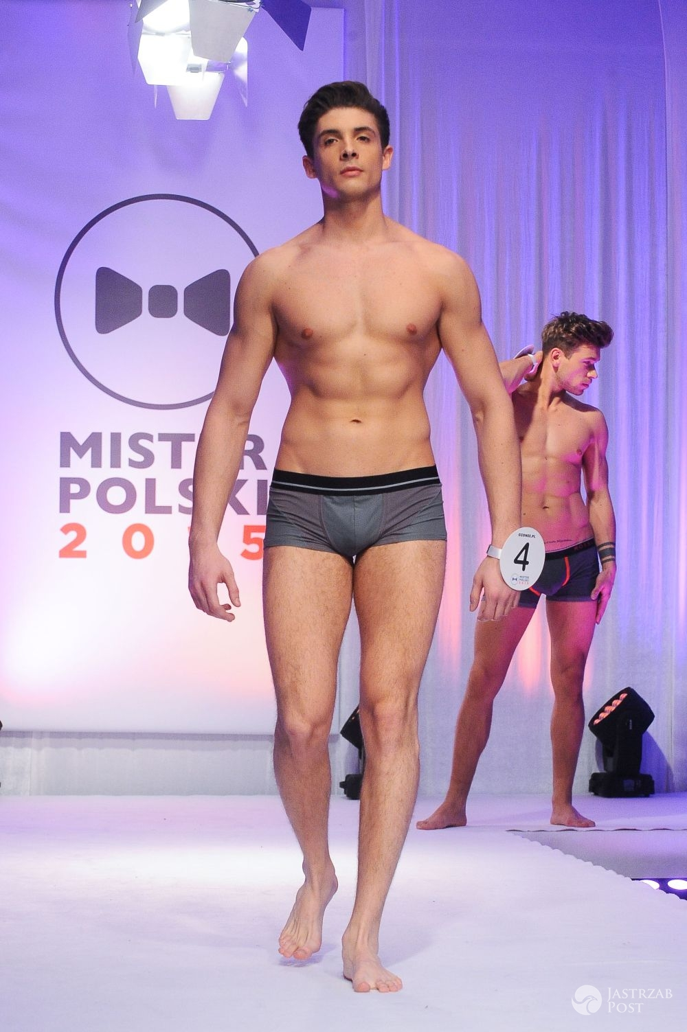 Mister Polski 2015: Zobacz, jak prezentowali się kandydaci na gali finałowej [GALERIA] - Adrian Waligóra – gala finałowa wyborów Mistera Polski 2015