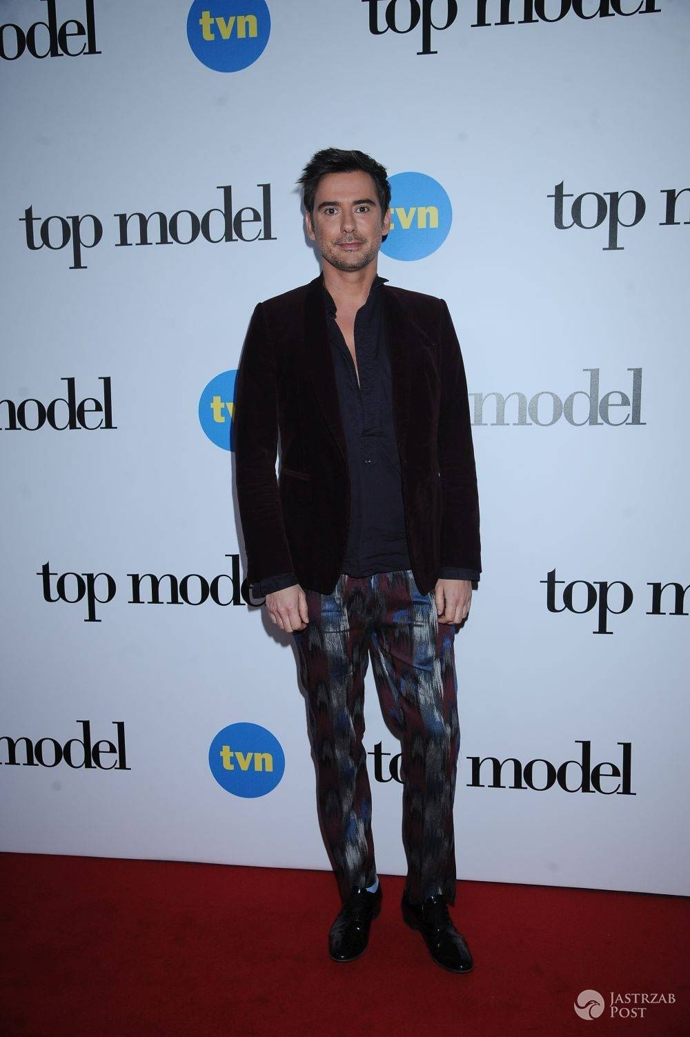 Marcin Tyszka na finale Top Model 5