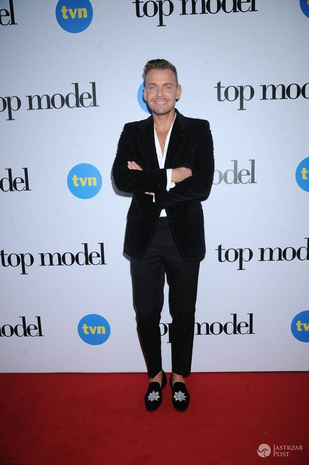 Dawid Woliński na finale Top Model 5
