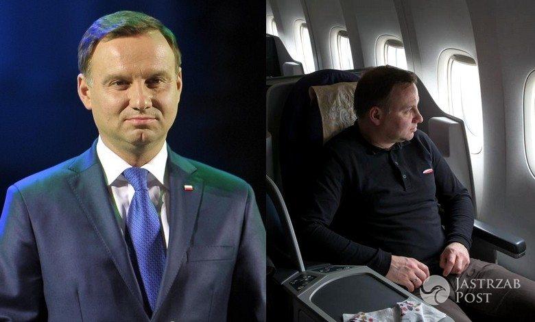 Andrzej Duda w kontrowersyjnej koszulce