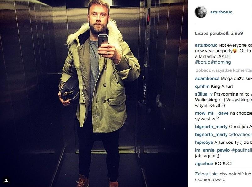 Artur Boruc (fot. Instagram)