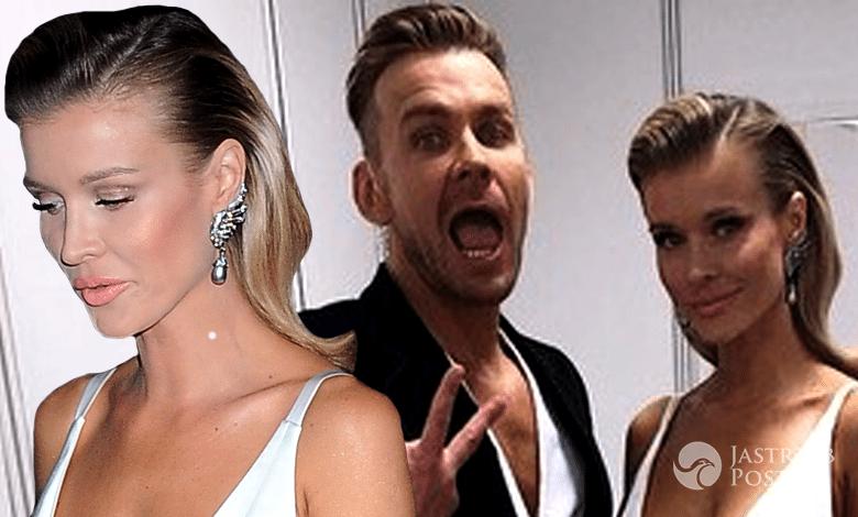 Dawid Woliński i Joanna Krupa w finale Top Model 5 (fot. ONS, Instagram)