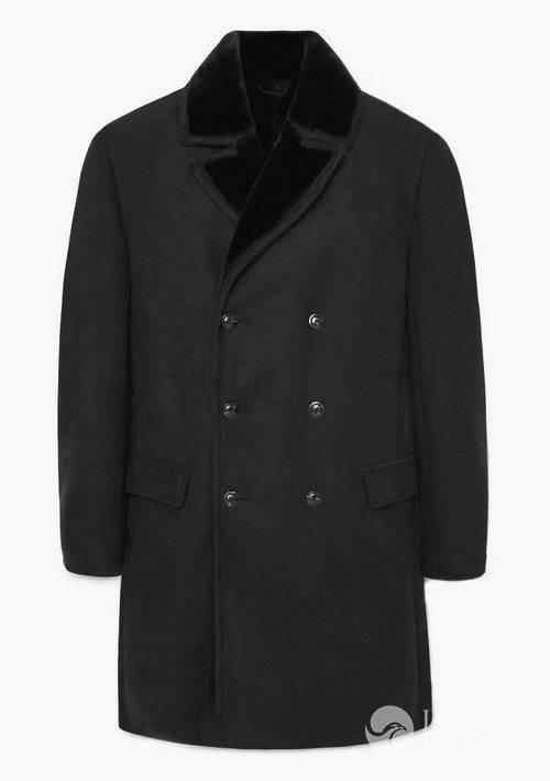 Futrzany płaszcz, Mango, 599,90 pln