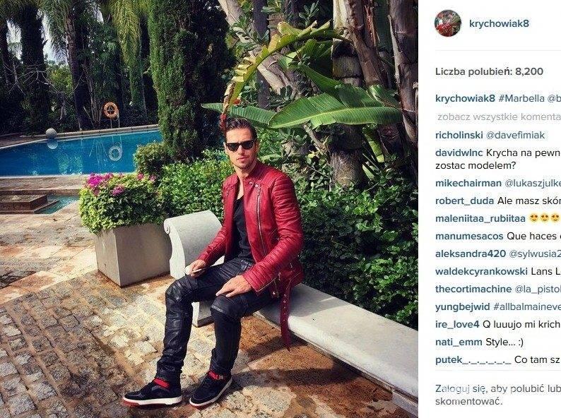 Grzegorz Krychowiak (fot. Instagram)