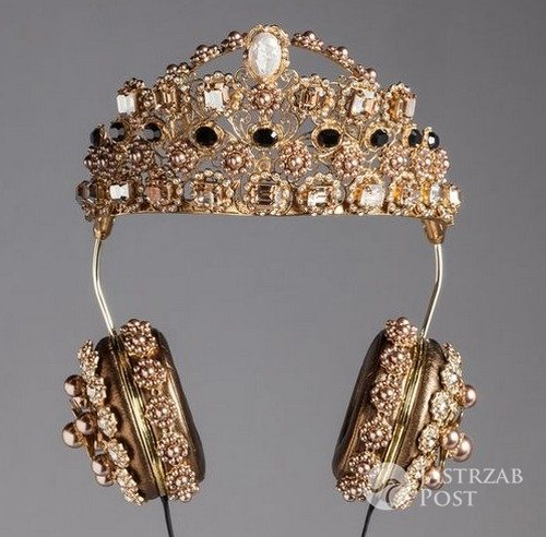Korona + słuchawki, Dolce&Gabbana, 4950 euro
