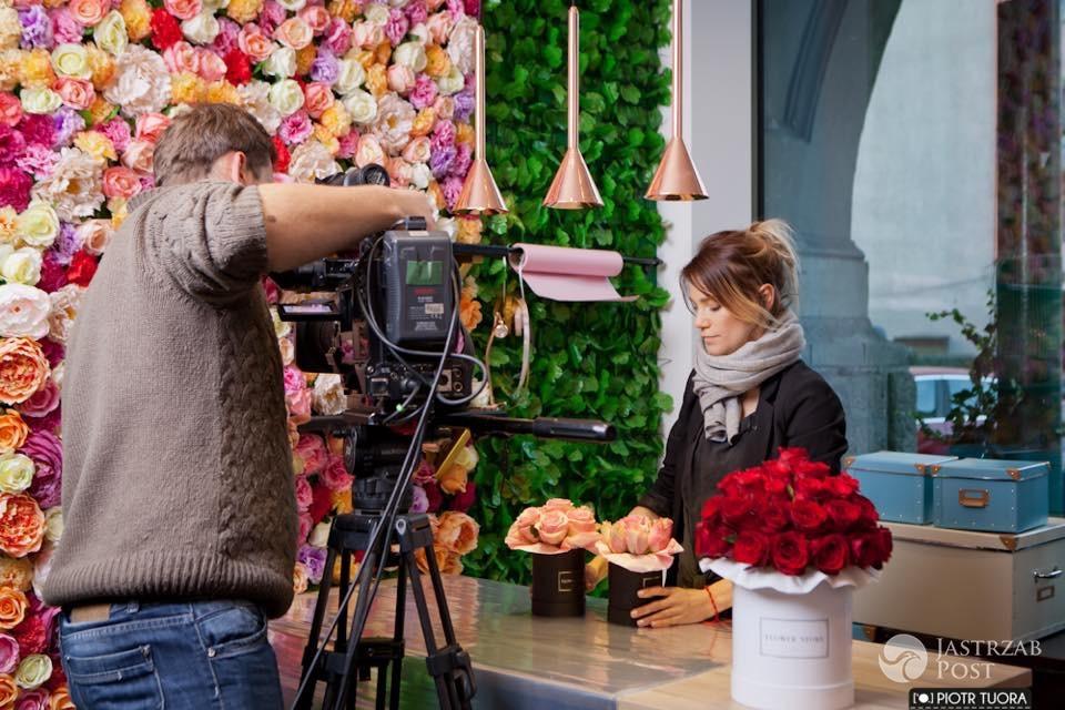 Maja Bohosiewicz otwiera kwiaciarnię