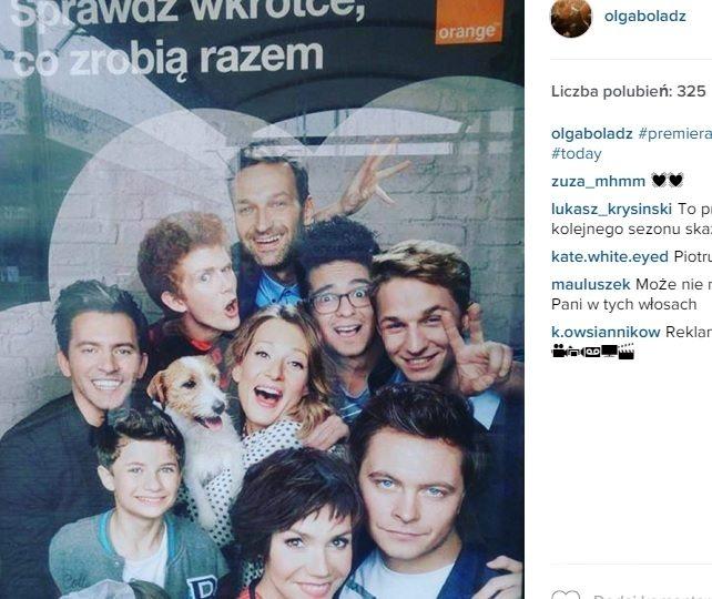 Nowe gwiazdy w reklamie Orange. Fot. Instagram.com