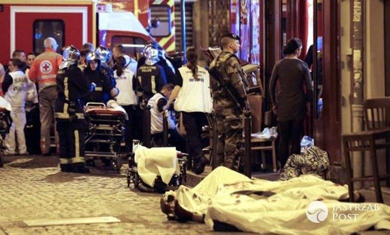 Zamachy w Paryżu.