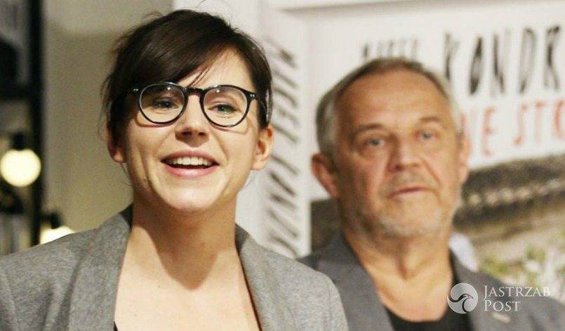 Marek Kondrat i Antonina Turnau po raz pierwszy oficjalnie razem