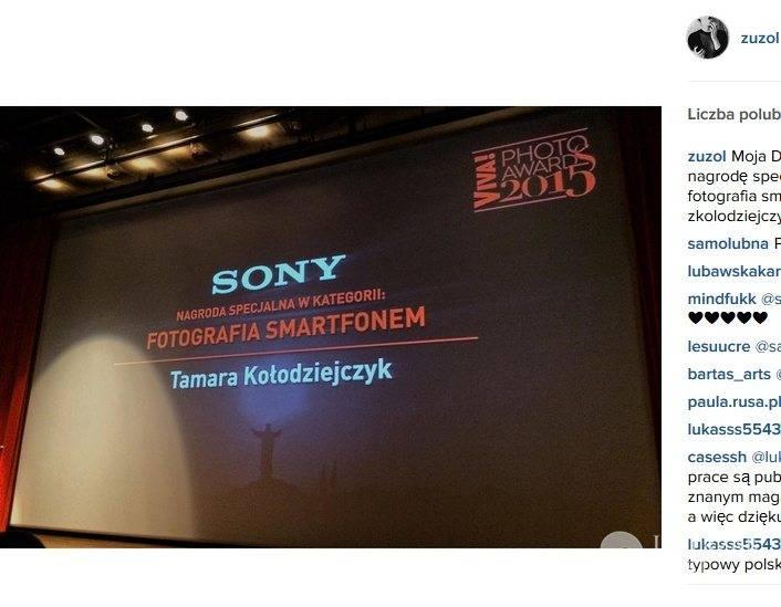 Siostra Zuzy z Top Model wygrała nagrodę w konkursie Viva Photo Awards