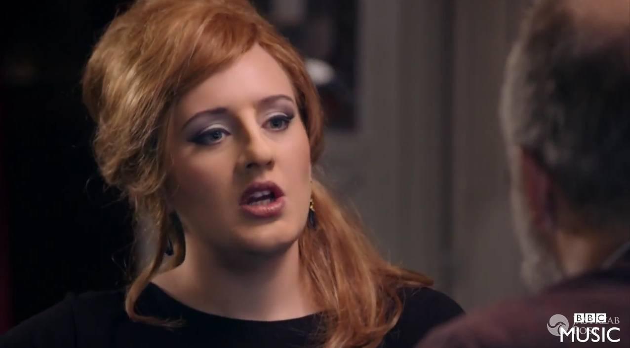 Adele wzięła udział w castingu na swojego sobowtóra
