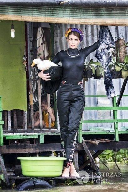 Magdalena Stępień-Kolesnikow - sesja w Wietnamie - półfinał Top Model 5