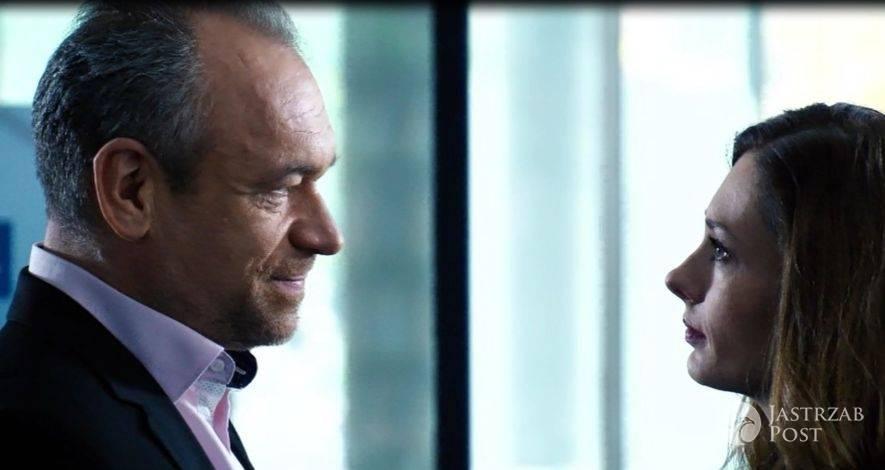 Przyjaciółki odcinek 73 (11) Zuza (Anita Sokołowska), Jerzy (Mariusz Bonaszewski) fot: Polsat