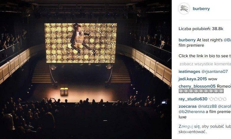 Romeo Beckham w świątecznej kampanii Burberry (fot. Instagram)