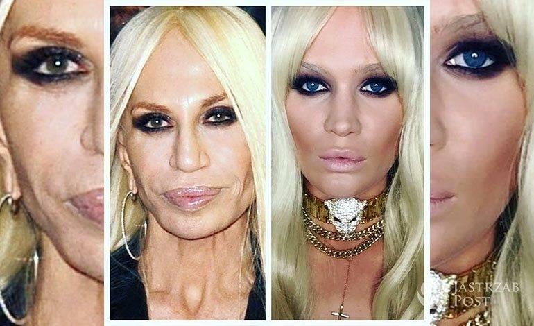 Zosia Ślotała jako Donatella Versace