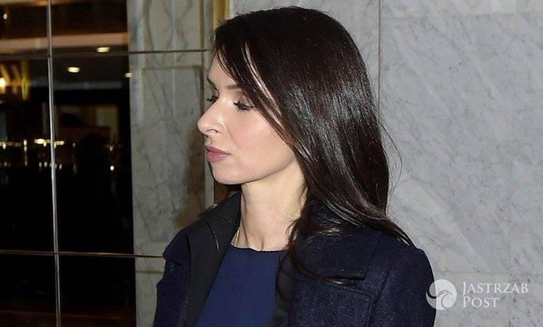 Marta Kaczyńska na premierze
