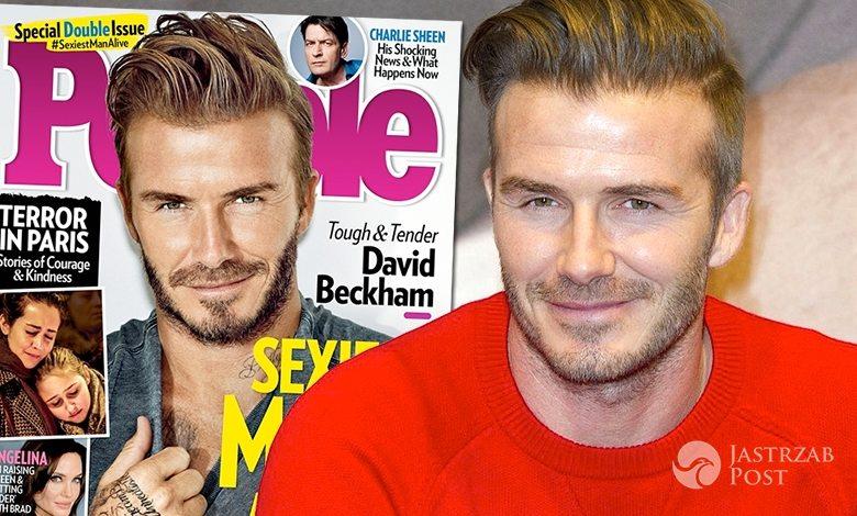 David Beckham najseksowniejszym mężczyzną świata według People