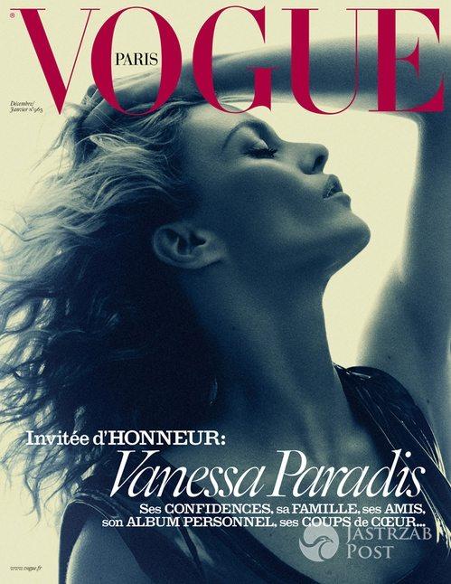 Vanessa Paradis, Vogue Paris (grudzień 2015 - styczeń 2016) (fot. David Sims)