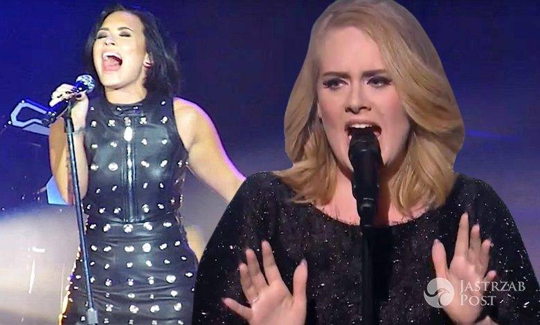 Demi Lovato Adele Hello