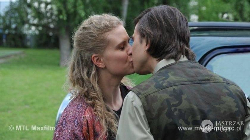 M jak miłość Natalka (Marcjanna Lelek), Franek (Piotr Nerlewski)