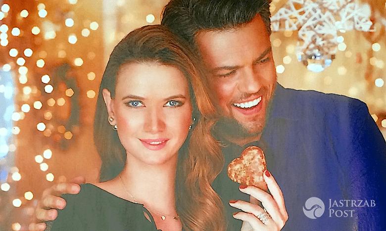 Karolina Malinowska i Olivier Janiak w kampanii Apart - Boże Narodzenie 2015