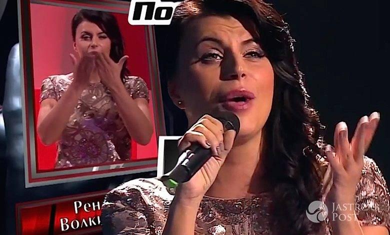 Renata Wolkiewicz w rosyjskim The Voice
