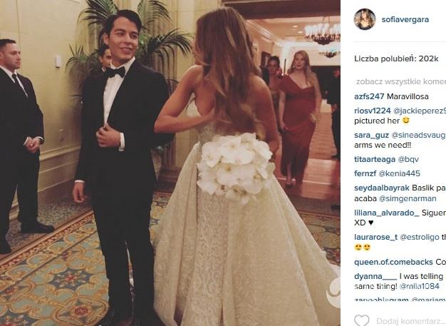 Sofia Vergara i Joe Manganiello są po ślubie