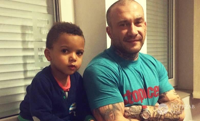 Raper Sobota z synem