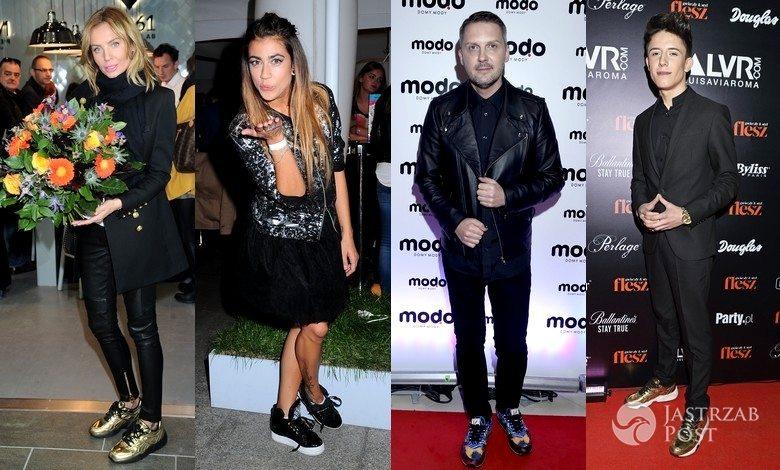 Gwiazdy w sportowych butach na imprezach
