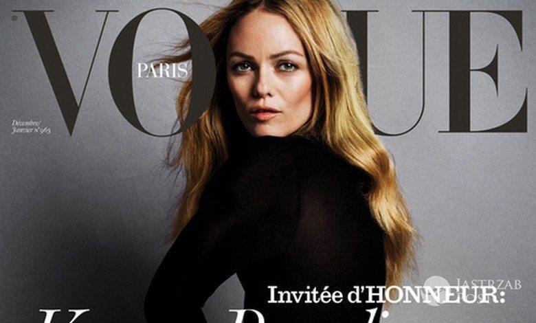 Vanessa Paradis, Vogue Paris (grudzień 2015 - styczeń 2016) (fot. Inez & Vinoodh)