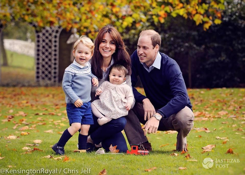 Oficjalne zdjęcie królewskiej rodziny: książę William, księżna Kate, książę George, księżniczka Charlotte