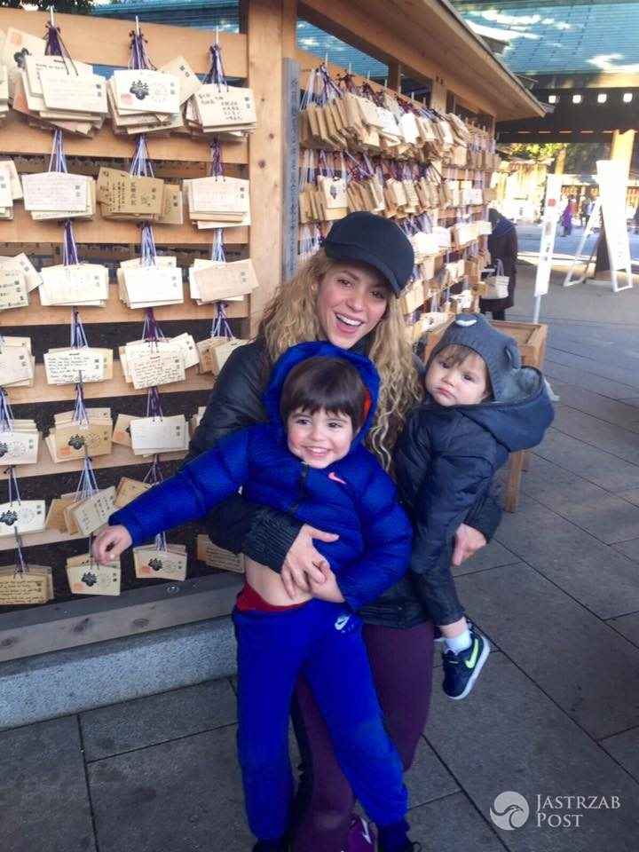 Shakira pokazała zdjęcie z synami