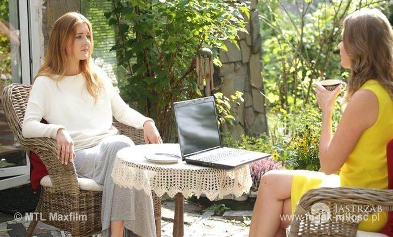 M jak miłość odcinek 1187, Ula (Iga Krefft), Anna (Tamara Arciuch)