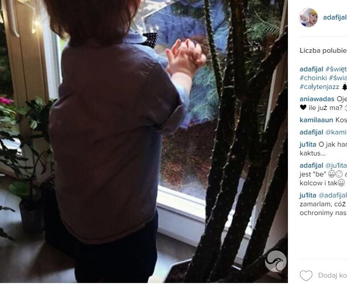 Ada Fijał pokazała synka na Instagramie