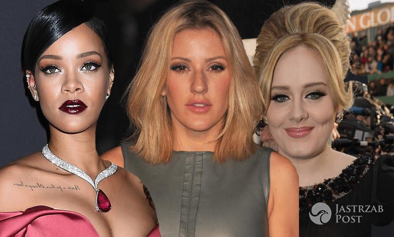 Adele, Rihanna, Ellie Goulding