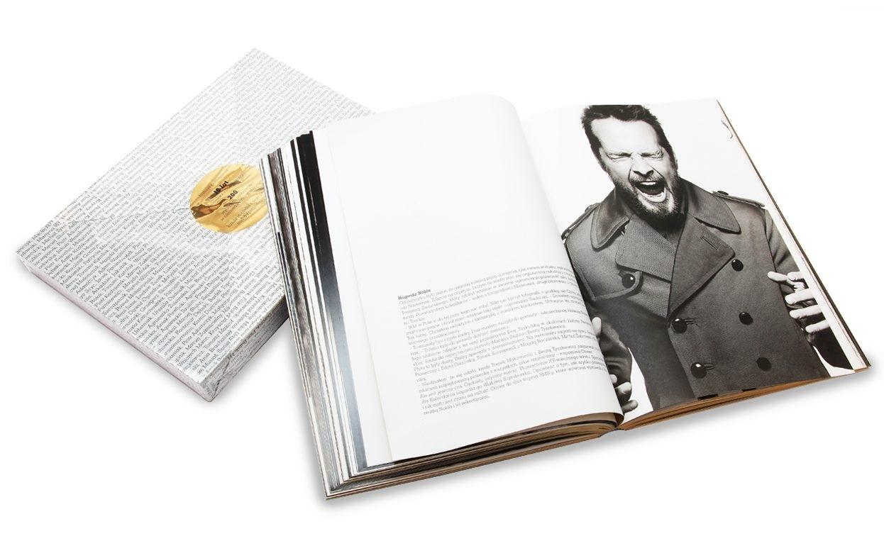 Album na 10 lat kalendarza Dżentelmeni, 249 pln