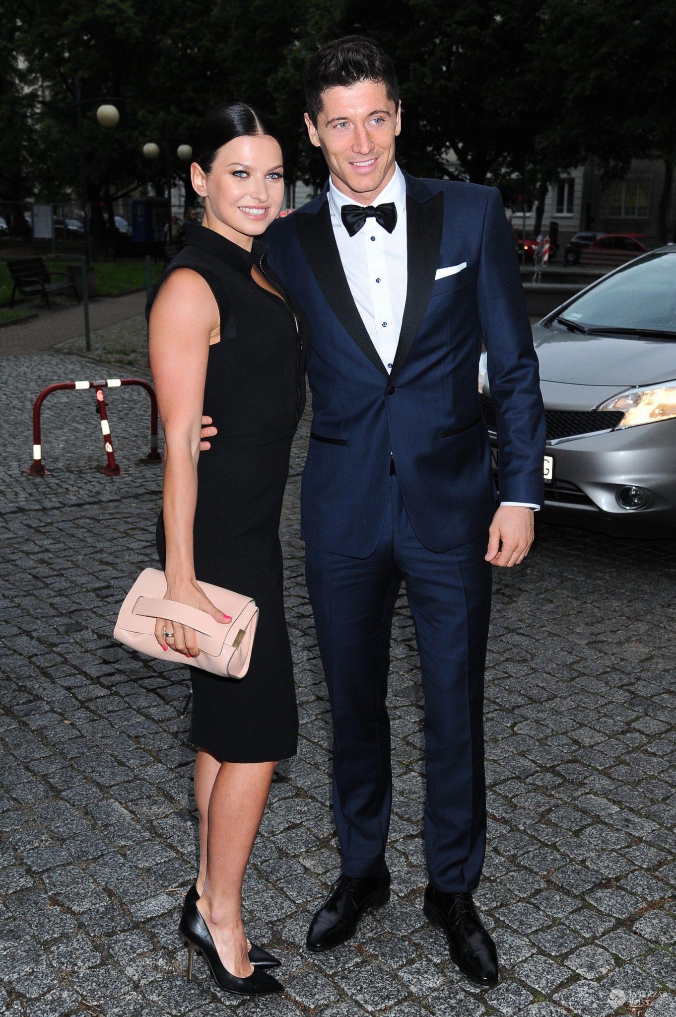 Anna i Robert Lewandowscy (fot. ONS)