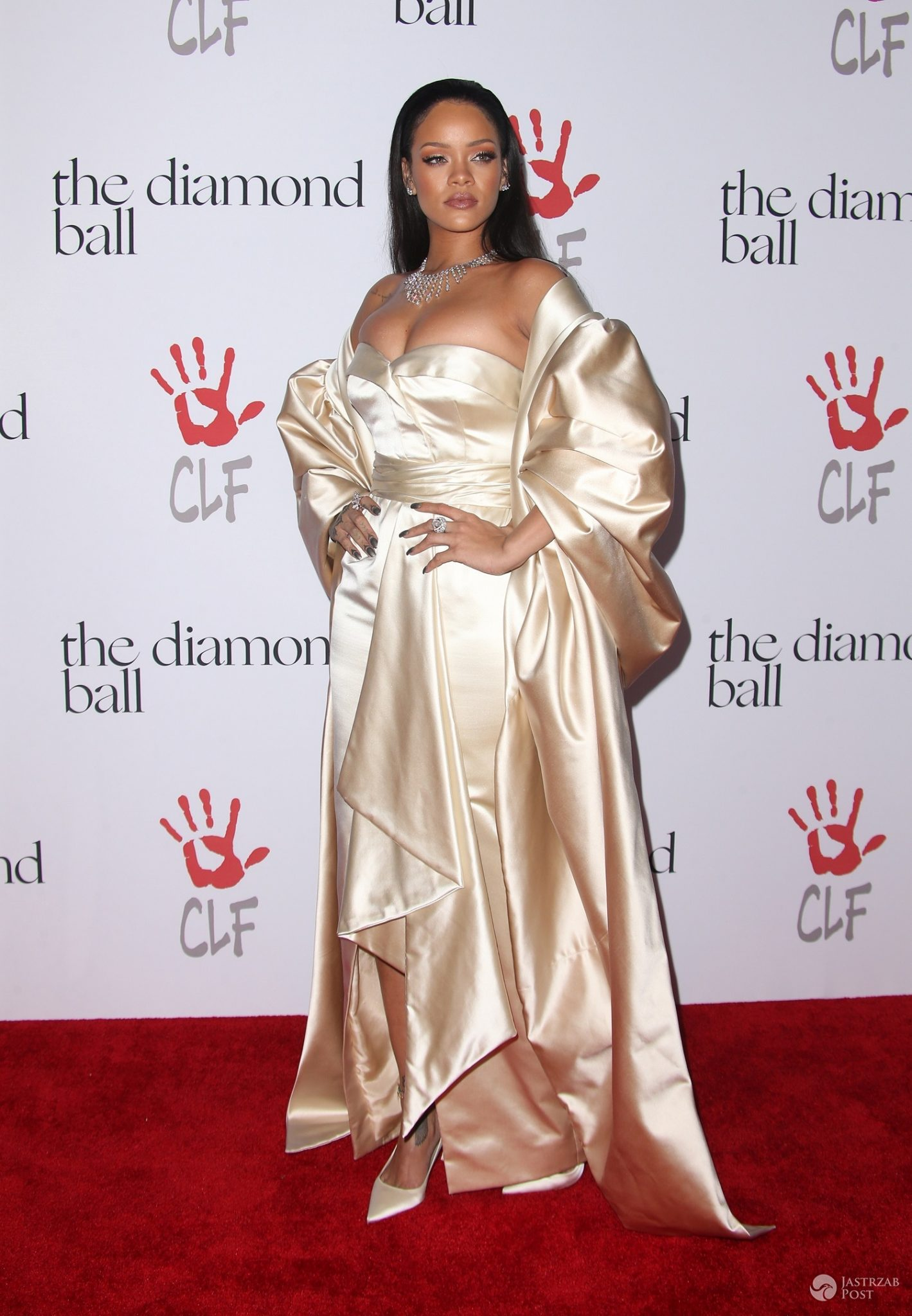 Rihanna na Diamond Ball 2015