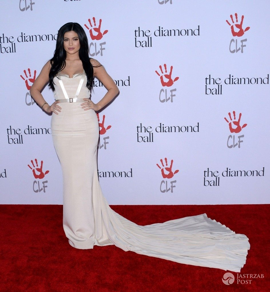 Kylie Jenner na Diamond Ball 2015