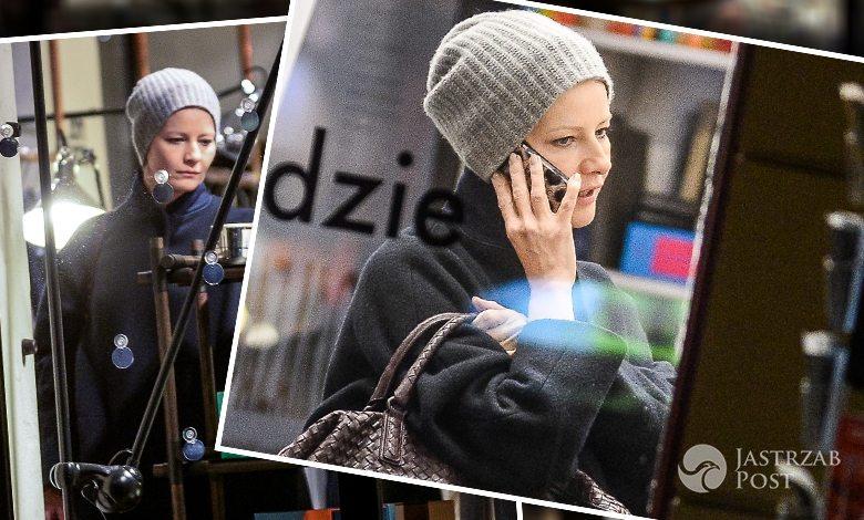 Małgorzata Kożuchowska na przedświątecznych zakupach