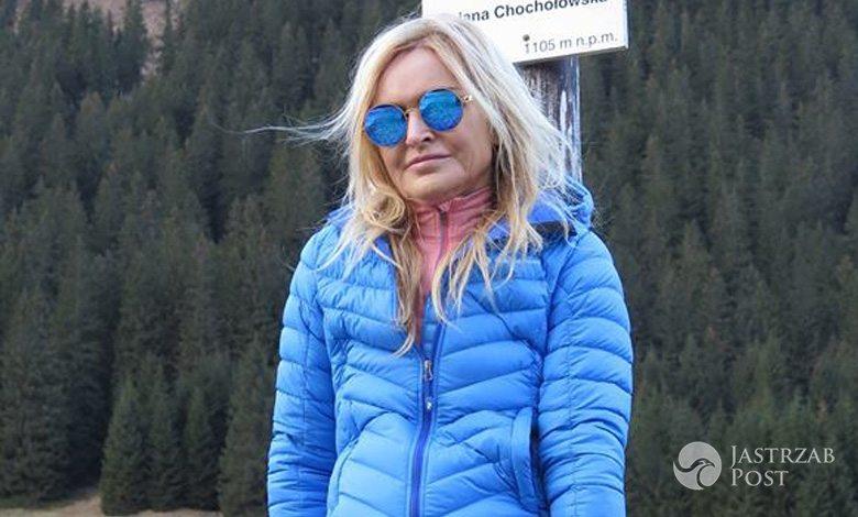 Monika Olejnik spędza święta aktywnie w górach fot. Facebook.com