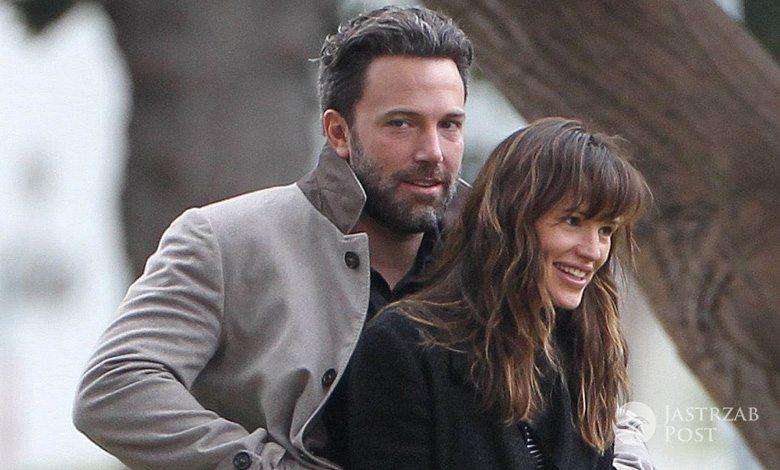 Ben Affleck i Jennifer Garner spędzili razem święta